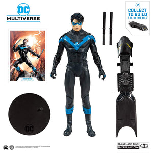 DC Multiverse McFarlane Batmobile Series Nightwing Action Figure
