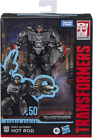 Transformers Studio Series Last Knight Deluxe WWII Hot Rod Action Figure