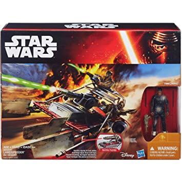 Star Wars The Force Awakens Desert Landspeeder Vehicle 3.75 Inch Action Figure