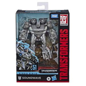 Transformers Studio Series Deluxe Soundwave Action Figure
