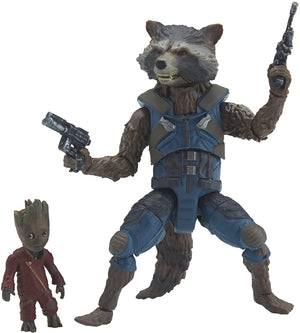 Marvel Legends Guardians Of The Galaxy Vol2 Wave 2 Rocket Raccoon And Baby Groot Action Figure