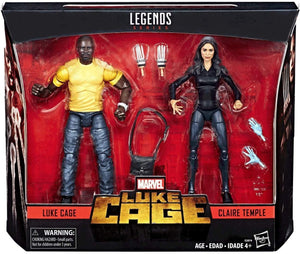 Marvel Legends Exclusive Luke Cage & Claire Temple Action Figure 2 Pack
