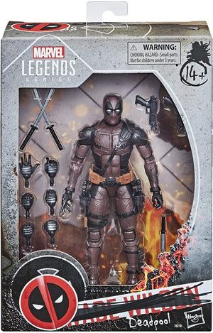 Marvel Legends Series Exclusive Premium Deadpool Action Figure Pre-Order