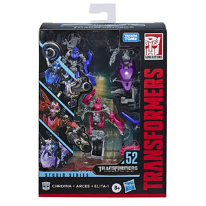 Transformers Studio Series Deluxe Chromia Arcee Elita 1 Action Figure