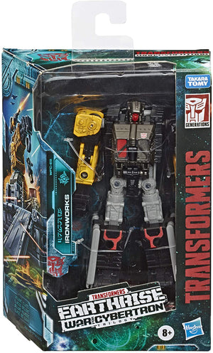 Transformers Earthrise War For Cybertron Deluxe Ironworks Action Figure