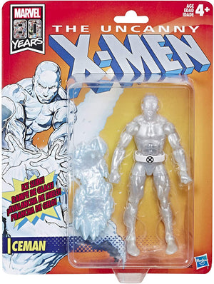 Marvel Legends Vintage Collection Uncanny X-Men Iceman Action Figure