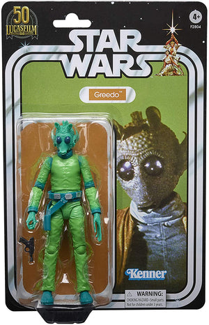Star Wars Black Series 50th Anniversary Lucasfilm Exclusive Greedo Action Figure Pre-Order