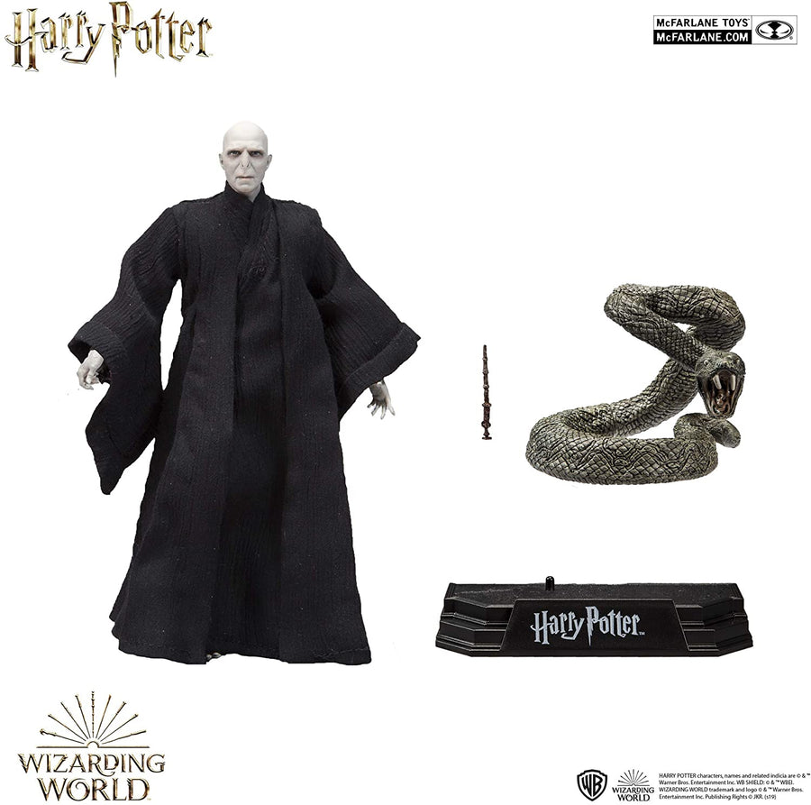 Harry Potter McFarlane Lord Voldemort & Nagini Action Figure
