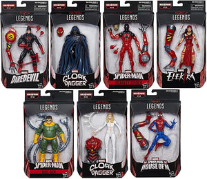 Marvel Legends Spider-Man SP//DR Series Set Of Seven Action Figure