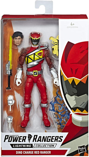 Power Rangers Lightning Collection Wave 1 Dino Charge Red Ranger Action Figure