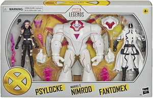 Marvel Legends X-Men Series Exclusive Psylocke Nimrod & Fantomex Action Figure 3-pack Pre-Order