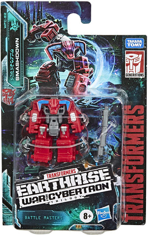 Transformers Earthrise War For Cybertron Battle Masters Smashdown Action Figure Pre-Order