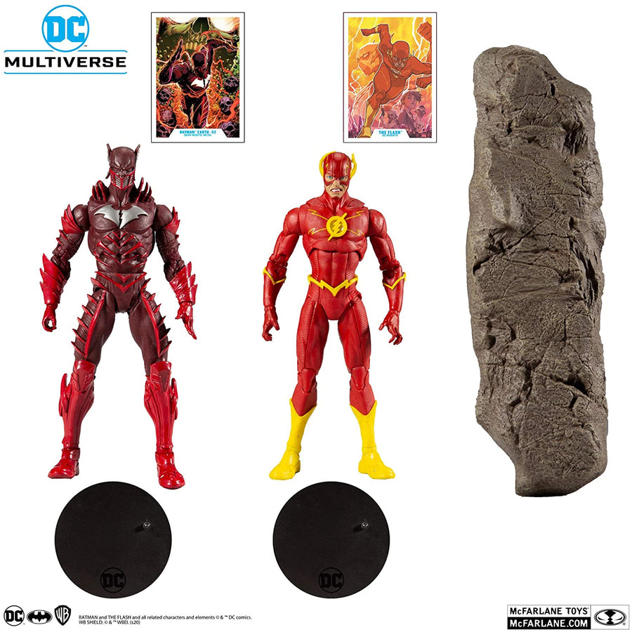 DC Multiverse McFarlane Exclusive Batman Red Death & The Flash Action Figure 2-Pack Pre-Order