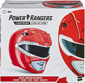 Power Rangers Lightning Collection Mighty Morphin Red Ranger Helmet Prop Replica Pre-Order
