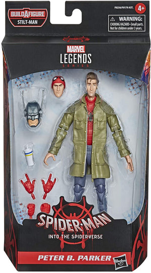 Marvel Legends Spider-Man Into The Spiderverse Series Peter B Parker Action Figure
