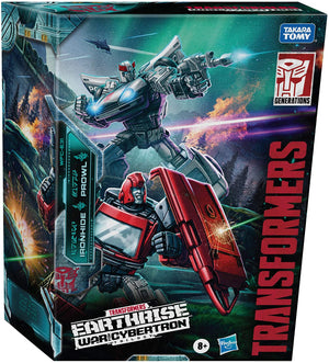 Transformers Earthrise War For Cybertron Exclusive Autobot Alliance Ironhide & Prowl 2-Pack Action Figure Pre-Order
