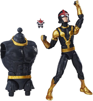 Marvel Legends Guardians Of The Galaxy Vol.2 Series Nova Sam Alexander Action Figure