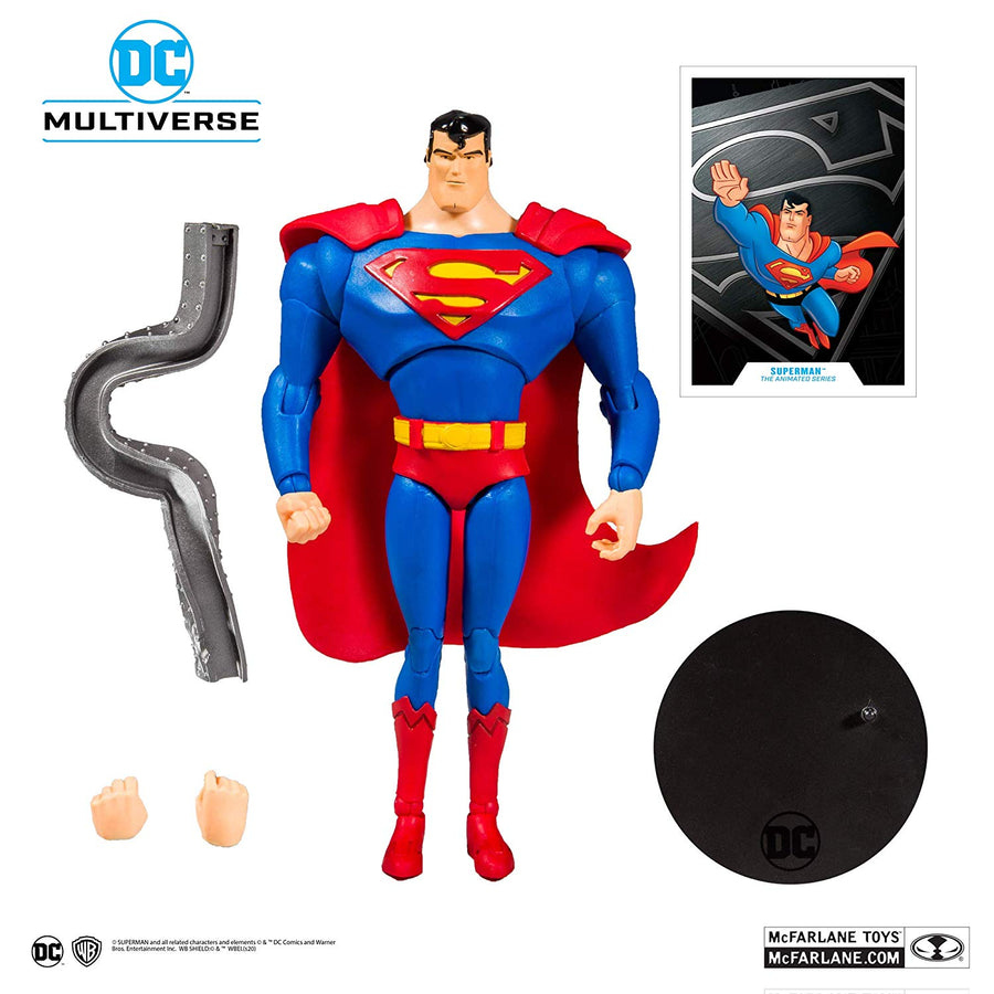 DC Multiverse McFarlane Series Superman The Animated Series Action Figure