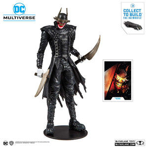 DC Multiverse McFarlane Batmobile Series The Batman Who Laughs Action Figure