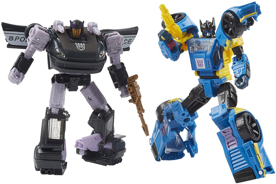 Transformers Generations Selects Exclusive War For Cybertron Odyssey Barricade & Punch 2-Pack Action Figure Pre-Order