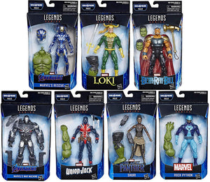 Marvel Legends Avengers End Game Series BAF Professor Hulk Set Of Seven Action Figure Pre-Order