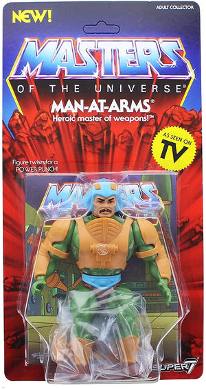 Masters Of The Universe Vintage Man-At-Arms Action Figure