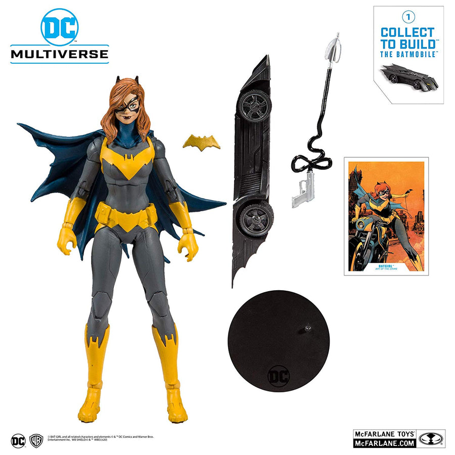 DC Multiverse McFarlane Batmobile Series Batgirl Action Figure Pre-Order