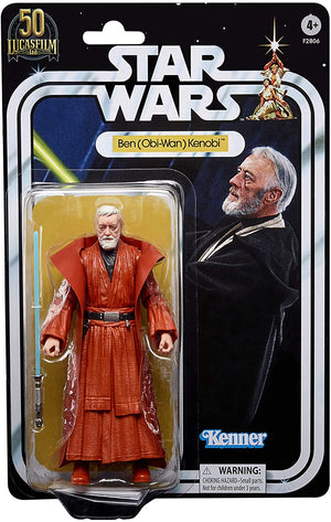 Star Wars Black Series 50th Anniversary Lucasfilm Exclusive Obi-Wan Kenobi Action Figure