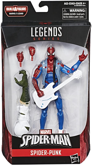 Marvel Legends Spider-Man Wave Spider Punk Action Figure