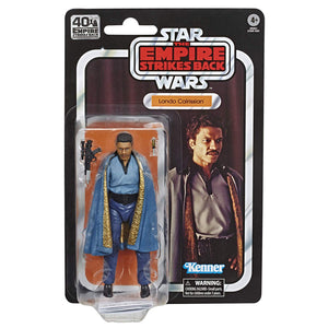 Star Wars Black Series 40th Anniversary Empire Strikes Back Lando Calrissian Action Figure Pre-Order