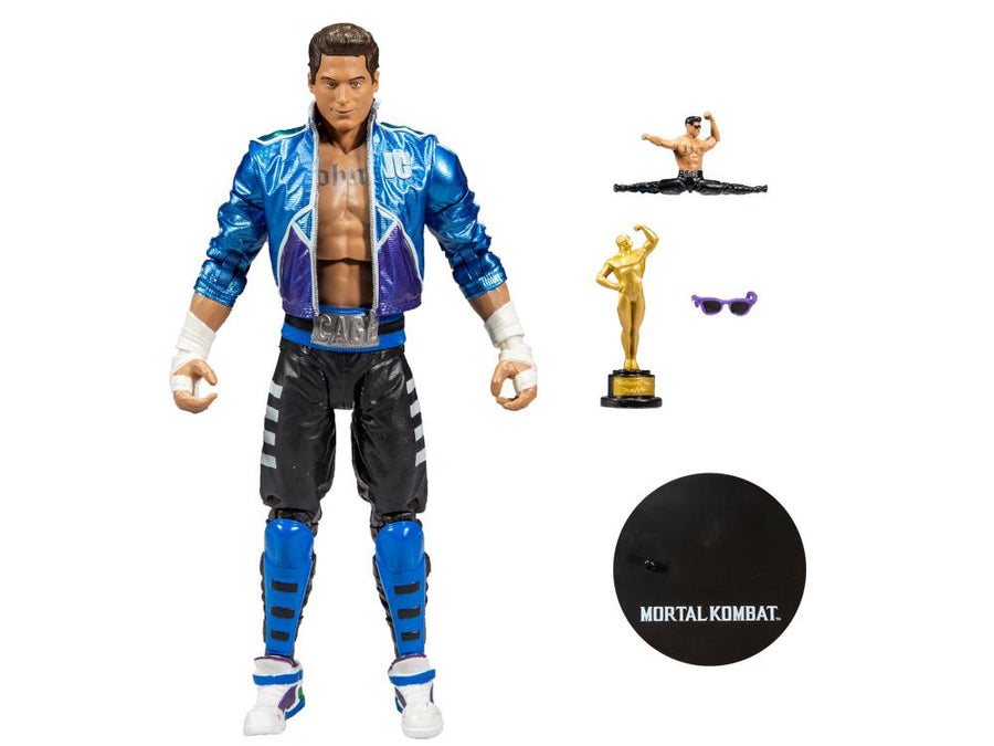 Mortal Kombat McFarlane Johnny Cage 7 Inch Action Figure