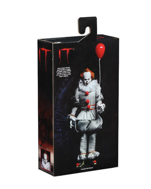 IT Neca Pennywise 2017 Clothed 8 Inch Action Figure