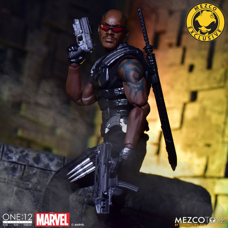 Marvel Mezco MDX Exclusive Blade One:12 Scale Action Figure