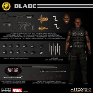 Marvel Mezco MDX Exclusive Blade One:12 Scale Action Figure Pre-Order