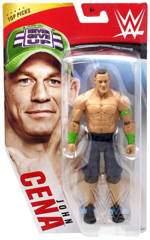 WWE Wrestling Basic Series 2020 Top Picks John Cena Action Figure