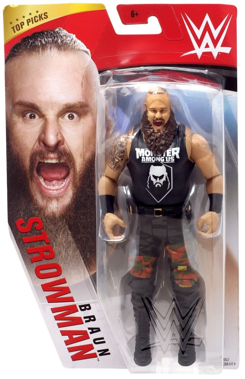 WWE Wrestling Basic Series 2020 Top Picks Braun Strowman Action Figure