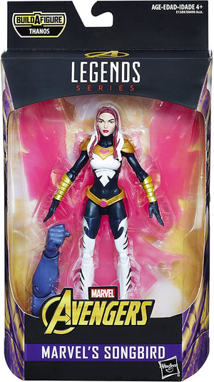 Marvel Legends Avengers Infinity War Songbird Action Figure