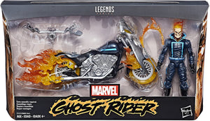 Marvel Legends Ghost Rider w/Motorcycle Action Figure