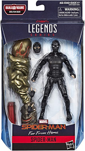 Marvel Legends Spider-Man Far From Home Series Stealth Suit Spider-Man Action Figure