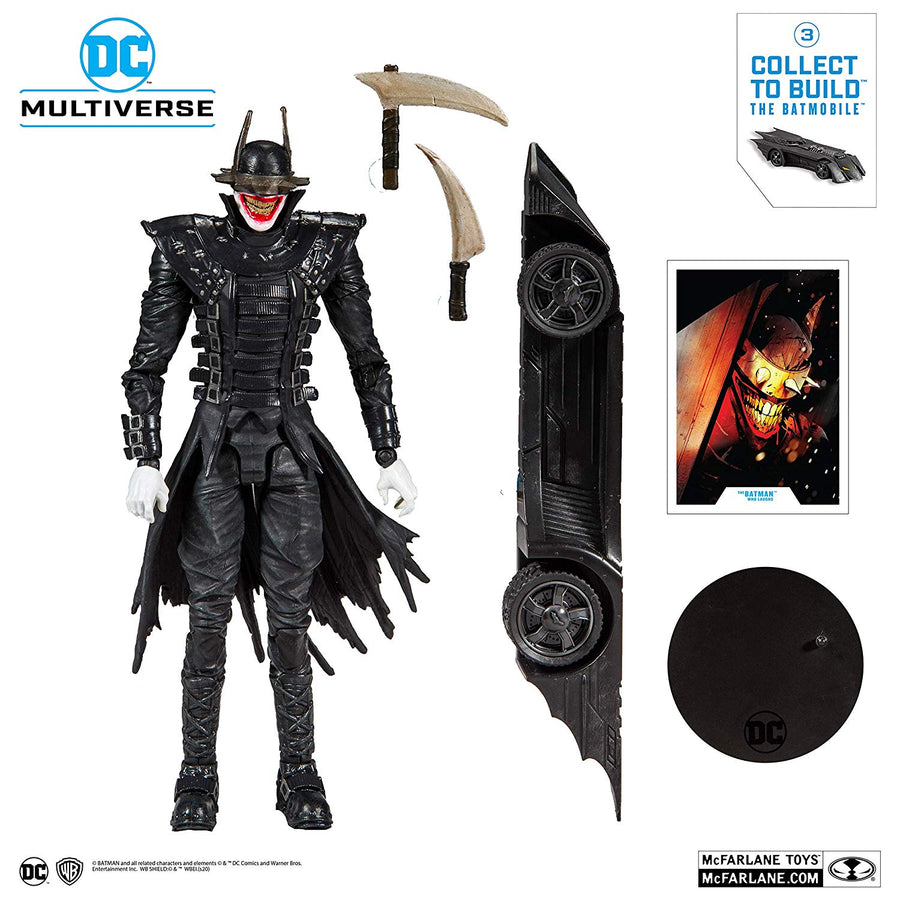 DC Multiverse McFarlane Batmobile Series The Batman Who Laughs Action Figure Pre-Order