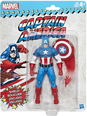 Marvel Legends Vintage Collection Captain America Action Figure