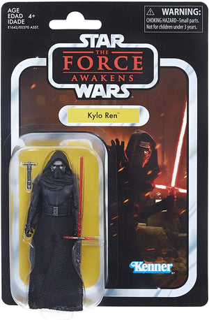 Star Wars The Vintage Collection Force Awakens Kylo Ren Action Figure