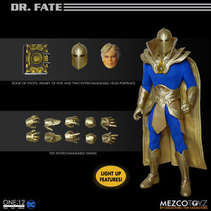 DC Mezco Dr. Fate One:12 Scale Action Figure Pre-Order