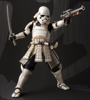 Star Wars Bandai Tamashii Nations Ashigaru First Order Stormtrooper Movie Realization Action Figure