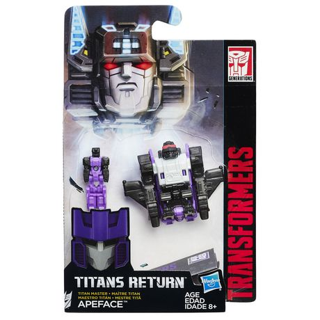 Transformers Titans Return Master Apeface