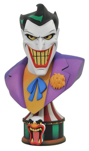 DC Batman The Animated Series Legends in 3D The Joker 1:2 Scale Bust Pre-Order
