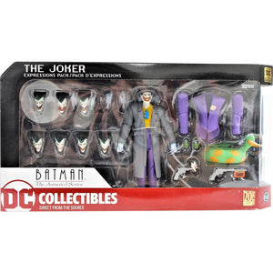 DC Batman The Animated Series The Joker Expressions Pack Action Figure #2 - Action Figure Warehouse Australia | Comic Collectables
