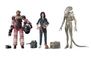 Alien Neca 40th Anniversary Series 1 Set of 3 Action Figures Pre-Order