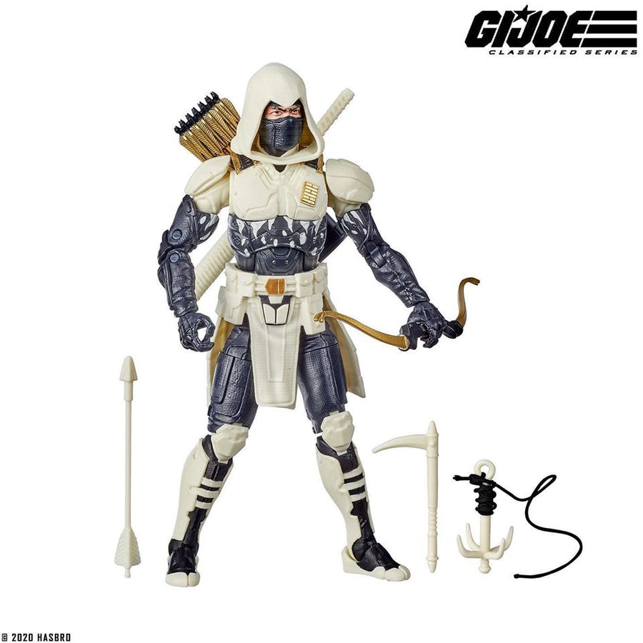 GI JOE Classified Series Exclusive Arctic Mission Storm Shadow Action Figure Pre-Order