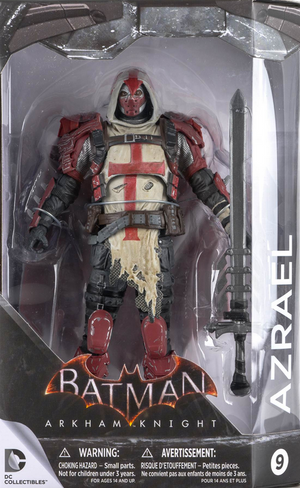 DC Batman Arkham Knight Series Azrael Action Figure #9 - Action Figure Warehouse Australia | Comic Collectables